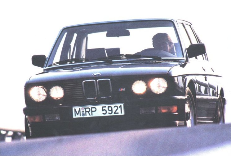Information on the E28 M535i.